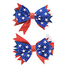 Top Paw® USA Hair Bows