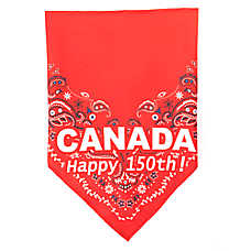Top Paw® Canada Happy 150th! Dog Bandana