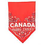 Top Paw® Canada Happy 150th! Dog Bandana