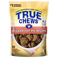 True Chews® Dog Treat - Natural, Chicken Pot Pie