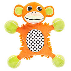 "Puppies""R""Us™ Monkey Blanket Body Dog Toy"