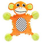 "Puppies""R""Us™ Flattie Monkey Body Dog Toy - Plush, Squeaker"