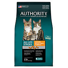 Authority® All Life Stages Cat Food - Chicken, Rice & Turkey