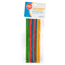 Grreat Choice®  Long Rainbow Stick Chews