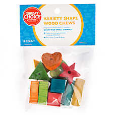 Grreat Choice®  Varity Shape Wood Chews