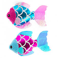 Whisker City® Fish 2-Pack Cat Toy - Plush, Catnip