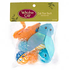 Whisker City® Bug 6-Pack Cat Toy