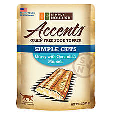 Simply Nourish™ Accents Cat Food Topper - Natural, Grain Free, Gravy with Oceanfish