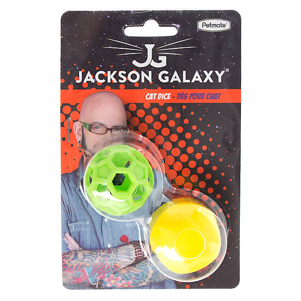 Jackson galaxy dice ball cat toy cat balls chasers for Jackson galaxy petsmart