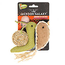 Jackson Galaxy® Marinator Snail & Narwhal Cat Toy - Catnip