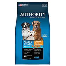 Authority® Small Bites All Life Stages Dog Food - Chicken & Rice