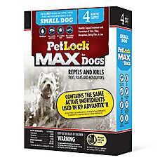 PetLock® Flea & Tick 5-10 Lbs Dog Treatment