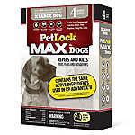 PetLock® Flea & Tick Over 55 Lb Dog Treatment