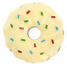 Grreat Choice® Donut Dog Toy - Squeaker