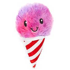 Grreat Choice® Snowcone Dog Toy - Plush, Squeaker