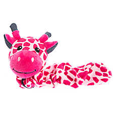 Grreat Choice® Bungee Giraffe Dog Toy - Squeaker