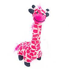 Grreat Choice® Giraffe Dog Toy - Plush, Squeaker