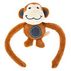 Grreat Choice® Monkey Dog Toy - Plush, Squeaker
