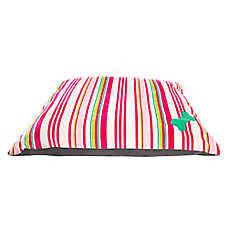 Grreat Choice® Striped Bone Dog Pillow Bed