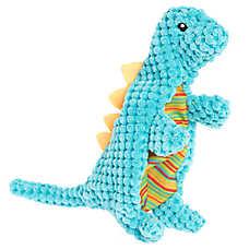 Top Paw® Flattie Dino Diplodocus Dog Toy - Squeaker