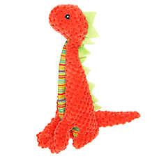 Top Paw® Flattie Dino Dinosaur Dog Toy - Squeaker
