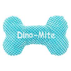 Top Paw® Dino Bone Dog Toy - Plush, Squeaker