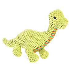 Top Paw® Dino Diplo Dog Toy - Plush, Squeaker