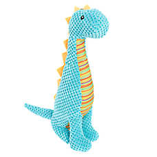 Top Paw® Tall Dino Dog Toy - Plush, Squeaker