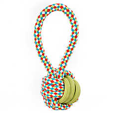 Top Paw® Dino Rope Ball Dog Toy - Rope