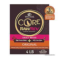 Wellness® CORE® RawRev Small Breed Adult Dog Food - Natural, Grain Free, Freeze Dried Raw, Original