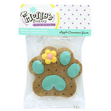 Molly's Barkery Flower Cookie Dog Treat - Apple Cinnamon