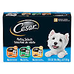 Cesar® Poultry Selects Small Dog Food - Variety Pack, 18ct