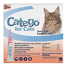 Catego™ Over 1.5 lb Cat Flea Prevention & Treatment
