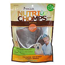 Pork Chomps Roasted Pork Earz Rawhide Free Dog Treat