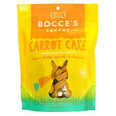 Bocce's Bakery Carrot Cake Cookies Dog Treat - Natural