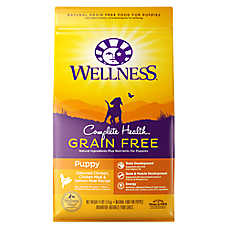 Wellness® Complete Health Puppy Food - Natural, Grain Free, Chicken, Chicken & Salmon Meal