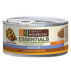 Simply Nourish™ Essentials Indoor Adult Cat Food - Natural, Grain Free, Chicken