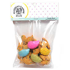 Claudia's Canine Bakery Easter Duck Cookies Dog Treat - Vanilla