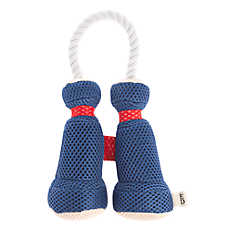 ED Ellen DeGeneres Binoculars Dog Toy - Plush, Rope