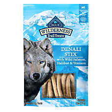 BLUE Wilderness® Denali Stix Dog Treat - Natural, Grain Free, Salmon, Venison & Halibut