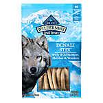 BLUE Wilderness® Denali Stix Dog Treat - Natural, Grain Free, Salmon, Venison & Halibut