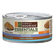 Simply Nourish™ Essentials Indoor Adult Cat Food - Natural, Grain Free, Tuna