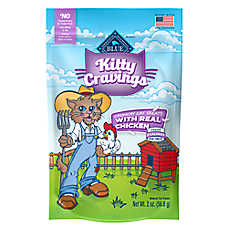 BLUE Kitty Cravings Cat Treat - Natural, Chicken