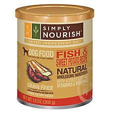 Simply Nourish™ Limited Ingredient Diet Dog Food - Natural, Grain Free, Fish & Sweet Potato