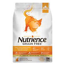 Nutrience® Grain Free Cat Food - Natural, Chicken, Turkey & Herring