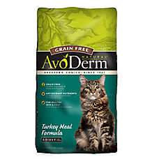 AvoDerm® Natural Adult Cat Food - Grain Free, Turkey Meal