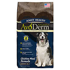 AvoDerm® Natural Joint Health Adult Dog Food - Grain Free, Chicken Meal