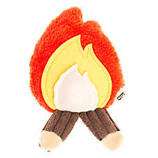 ED Ellen DeGeneres Flattie Fire Dog Toy