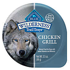 BLUE Wilderness® Trail Trays Small Dog Food - Natural, Grain Free, Chicken Grill