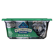 BLUE Wilderness® Trail Tubs Dog Food - Natural, Grain Free, Duck Stew